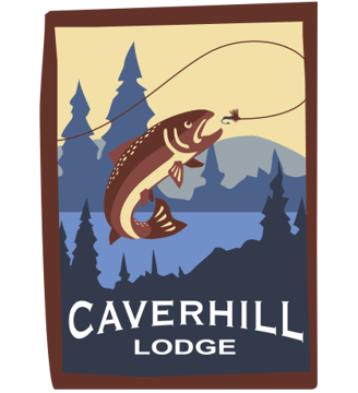Caverhill Fly Fishing Lodge Retina Logo